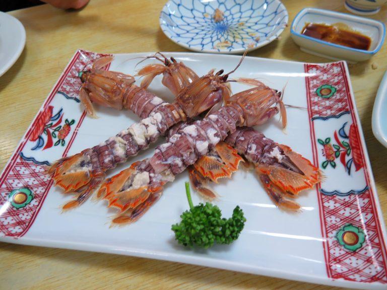北海道自由行-北海道旅遊-北海道旅遊景點-賴尿蝦肉厚鮮甜,再次印證食材新鮮,根本不需多加調味料去烹調