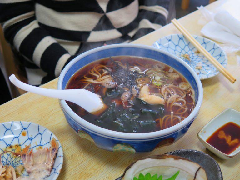 北海道自由行-北海道旅遊-北海道旅遊景點-寒冷天氣食碗熱soba,全身暖笠笠