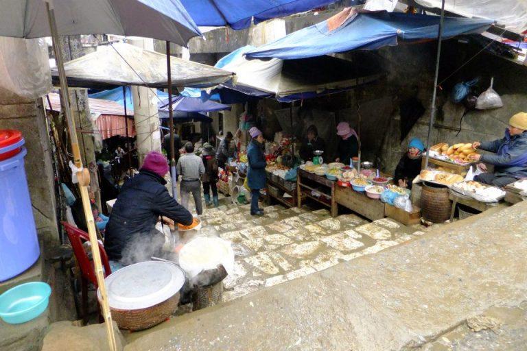 越南自由行-沙壩市場