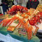 北海道自由行-北海道二条市場嘆皇帝蟹花咲蟹
