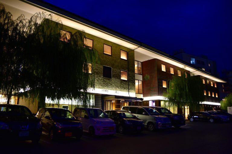 鳥取自由行-到達米子海岸廣場皆生酒店已天黑了