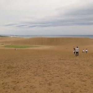 鳥取自由行-鳥取砂丘有如一個海邊的小沙漠