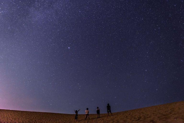 鳥取自由行-鳥取砂丘的星空 -鳥取縣照片提供