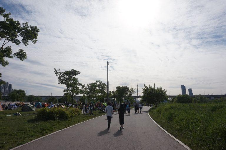 首爾自由行-首爾景點-韓國自由行-韓國旅遊-盤浦漢江公園