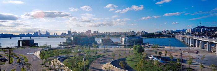 首爾自由行-首爾景點-韓國自由行-韓國旅遊-盤浦漢江公園 (相片來源:韓國觀光公社)
