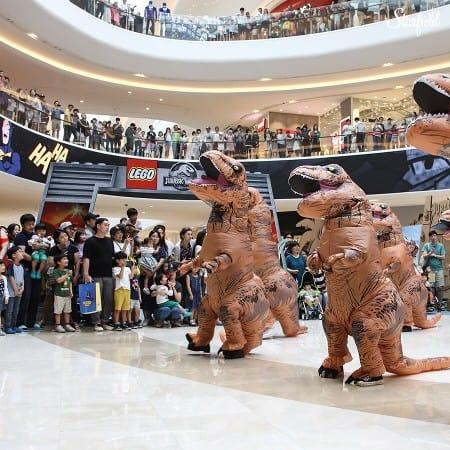 首爾自由行-首爾景點-商場表演