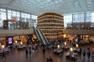 首爾自由行-首爾景點-星空圖書館