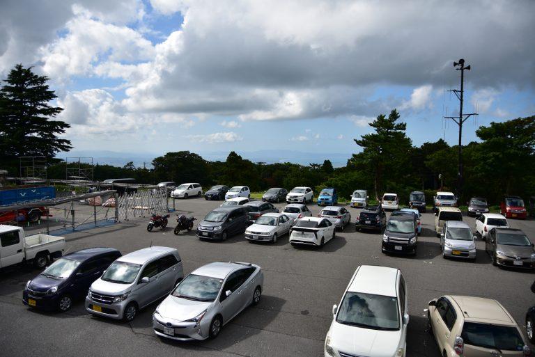 鳥取自由行-大山的駐車場