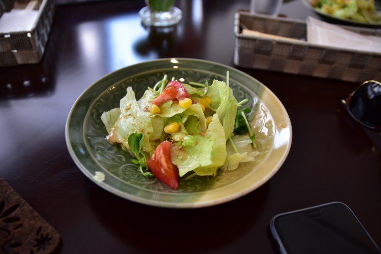 鳥取自由行-參道旁的一間日式西餐廳