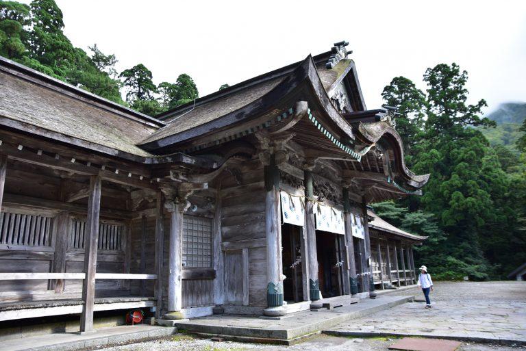 鳥取自由行-大神山神社的真身啊
