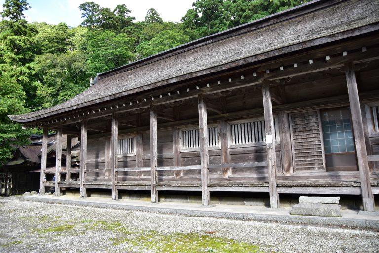 鳥取自由行-神社比我想像中還要舊,據說已有1300多年歷史