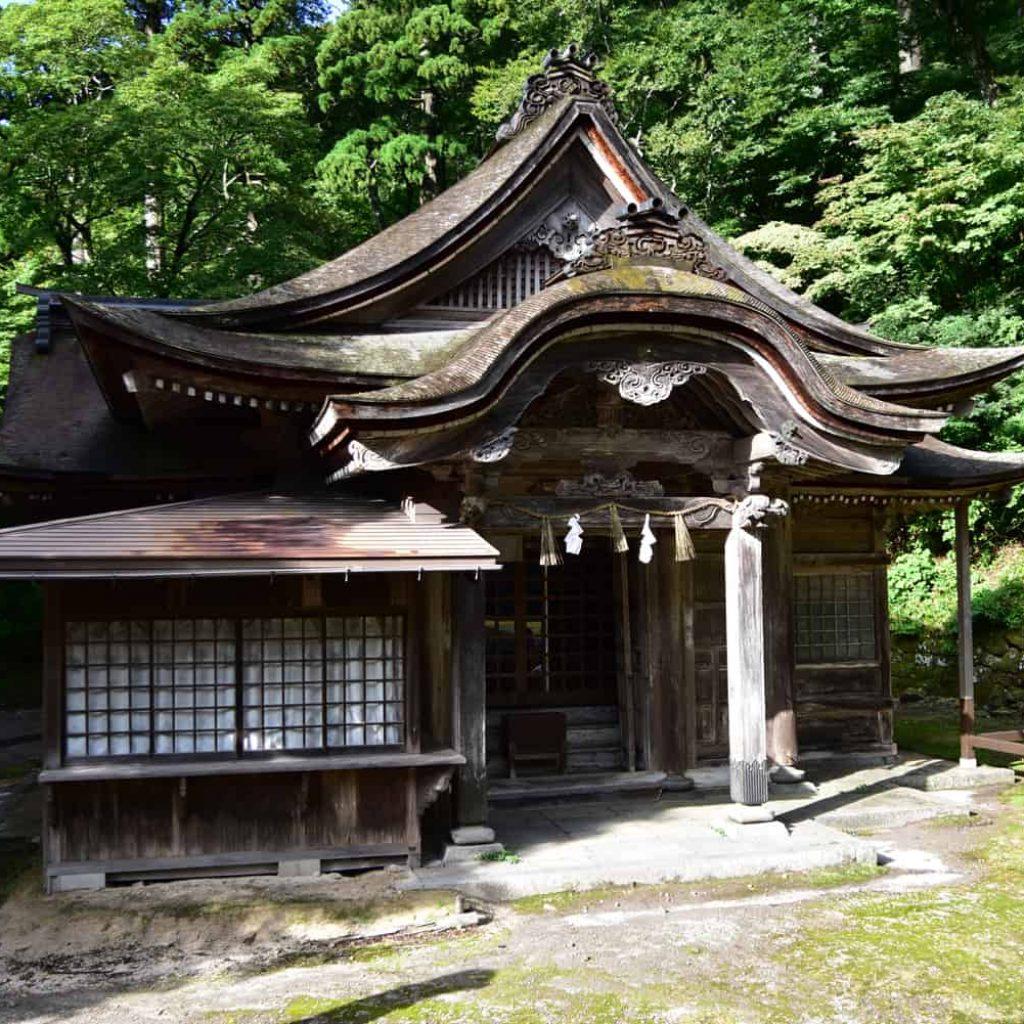 鳥取自由行-神社旁的小神社