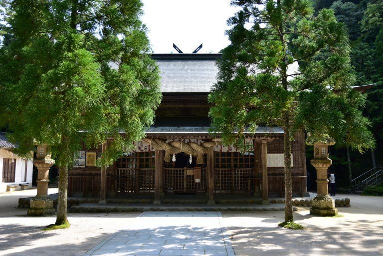 鳥取自由行-玉作湯神社