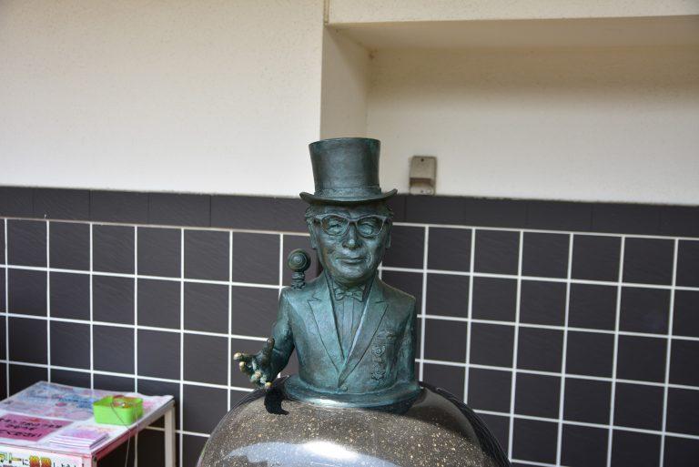 鳥取自由行-水木茂先生凡的紀念銅像