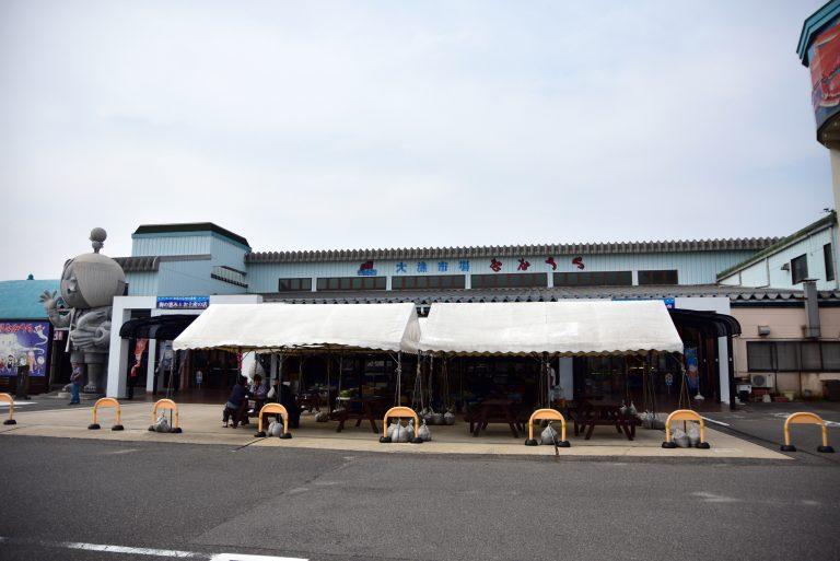 松江城-在梅崎水產白行一趟後,我們決定到境港大漁市場享用午餐