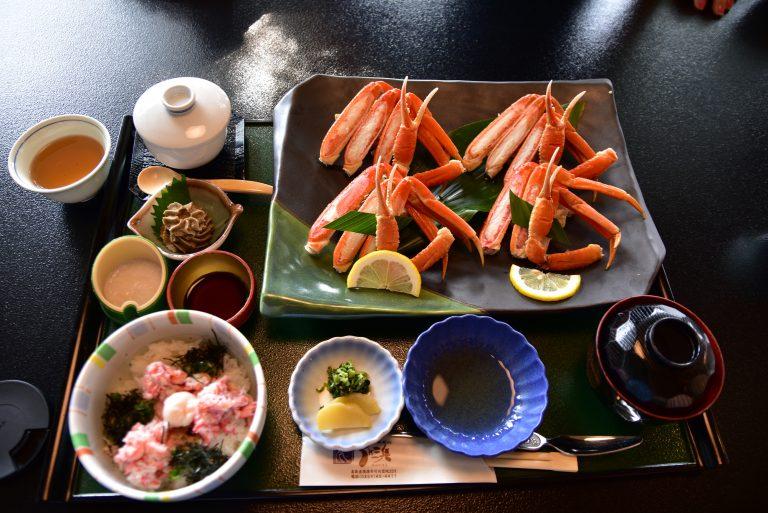 松江城-最愛吃蟹的我當然點選了紅楚蟹套餐