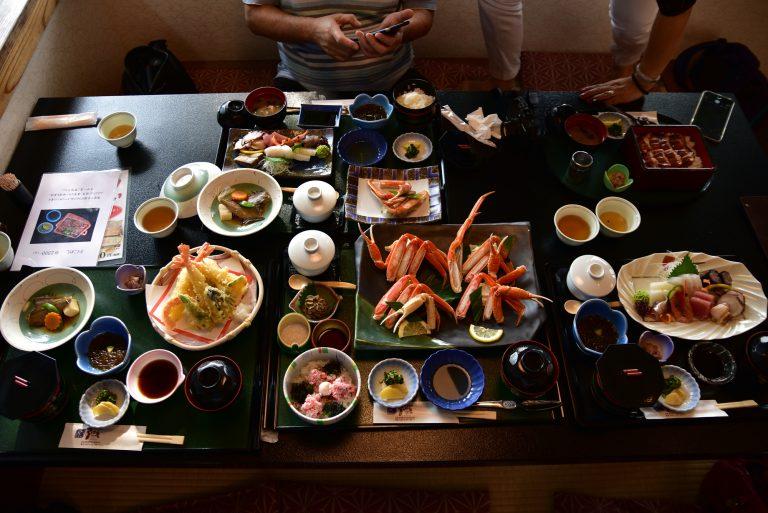 松江城-天婦羅、刺身也非常普通,只有鰻魚稍為好一點