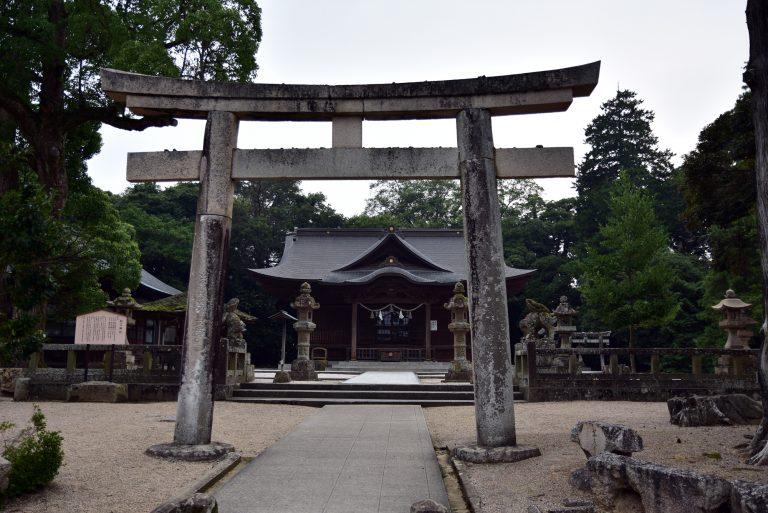 松江城-天守城下的松江神社