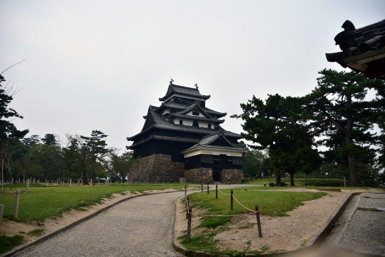 松江城-松江城天守外貌,這裡沒有太多遊客,感覺不錯