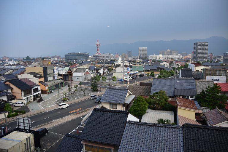 出雲大社-出雲酒店Green Rich Hotel Izumo外的景色,天氣還不錯啊