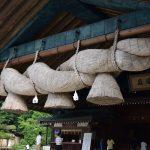 出雲大社-這就全日本最大,長約十三米,粗約九米,重量達五噸的注連繩