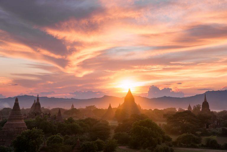 各國簽證大全-Bagan Sunset