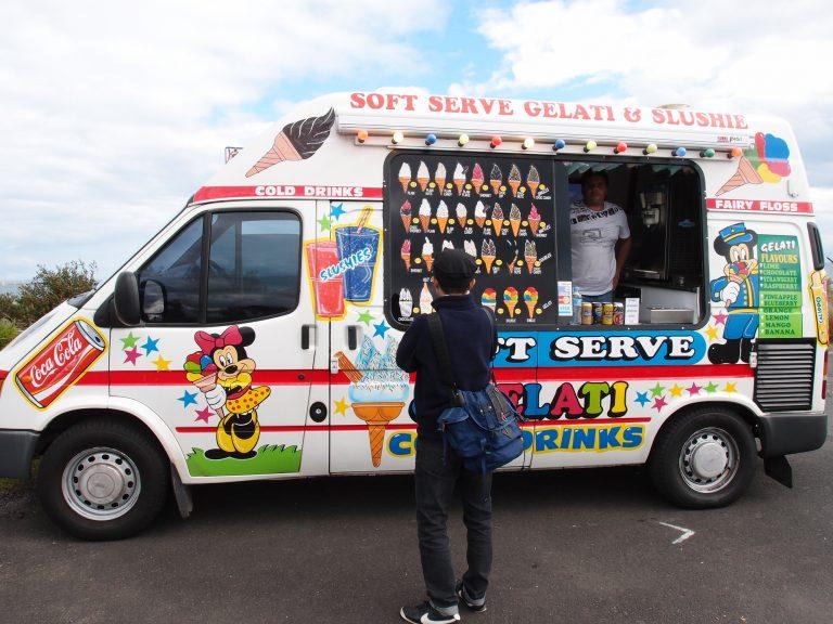 墨爾本景點-墨爾本自由行-melbournetour-墨爾本的雪糕車,好像比香港的繽紛