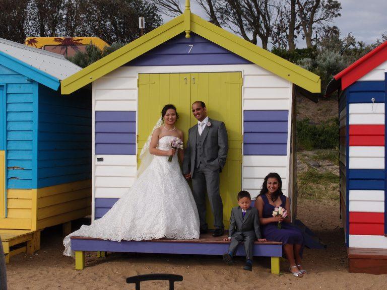 墨爾本景點-墨爾本自由行-melbournetour-那天還有人結婚呢
