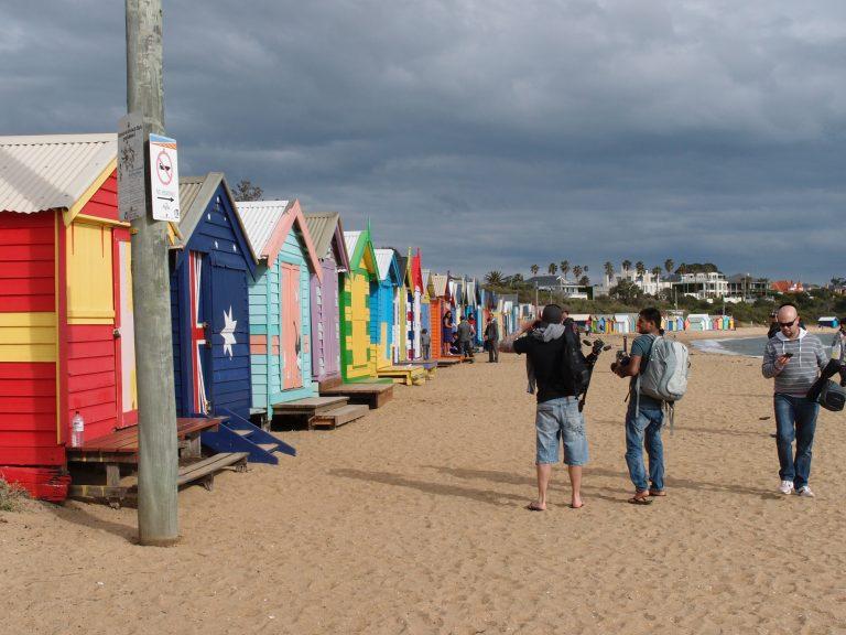 墨爾本景點-墨爾本自由行-melbournetour-最受歡迎的澳洲國旗小屋