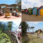 墨爾本自由行Melbourne Tour!墨爾本郊區5大必遊熱門景點 – 野生動物園/彩虹小屋/蒸汽火車