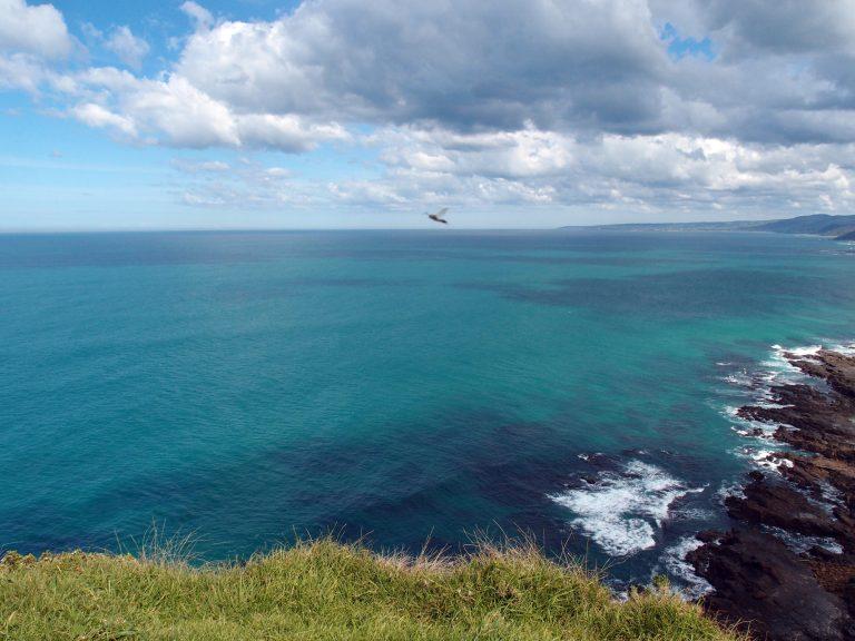 Melbournelocaltour-Melbourne天氣-澳洲旅遊推薦-Cape Patton Lookout Point,這海洋也太美麗了