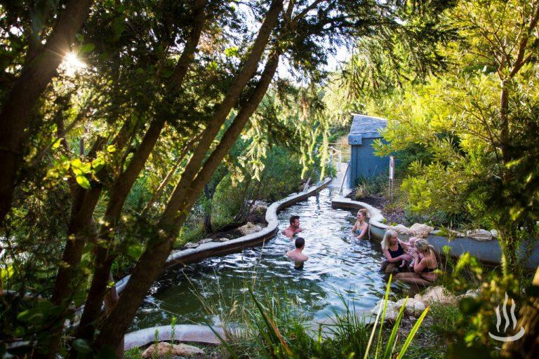 墨爾本自助-置身於山林中的溫泉樂園 (網上圖片)