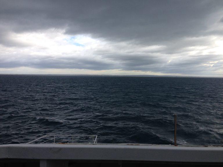 墨爾本自助-船程約30分鐘,休息一會就到了Geelong鎮