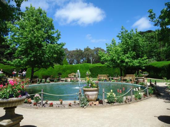 墨爾本自助-公園內的噴水池是影相的好地方(網上圖片)