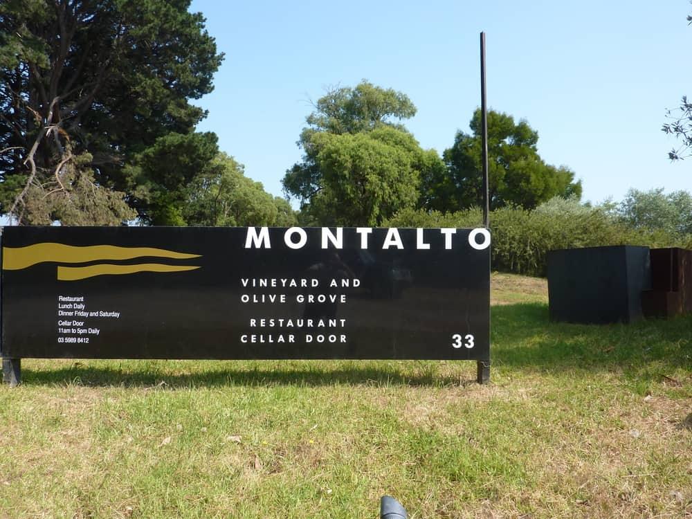 墨爾本自助-Montalto酒莊除了是酒莊,還是一所餐廳 (網上圖片)