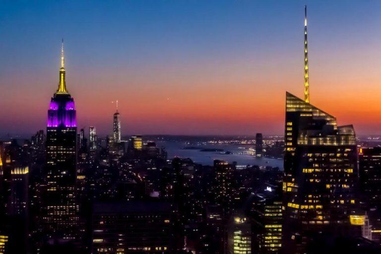 【紐約夜景首選】洛克斐勒中心Top of the Rock觀景台門票