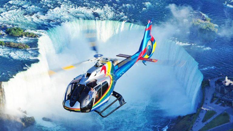 【翱翔天際】加拿大尼加拉瀑布直升機之旅