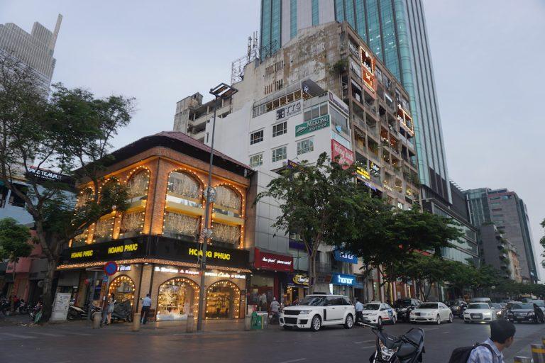 胡志明市步行街