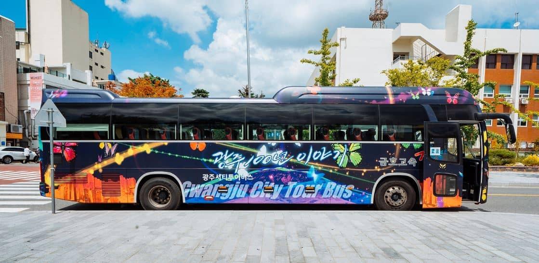 韓國光州自由行2020,光州最全面市內交通攻略:光州藝術街、不老洞婚紗街、松汀牛肉餅