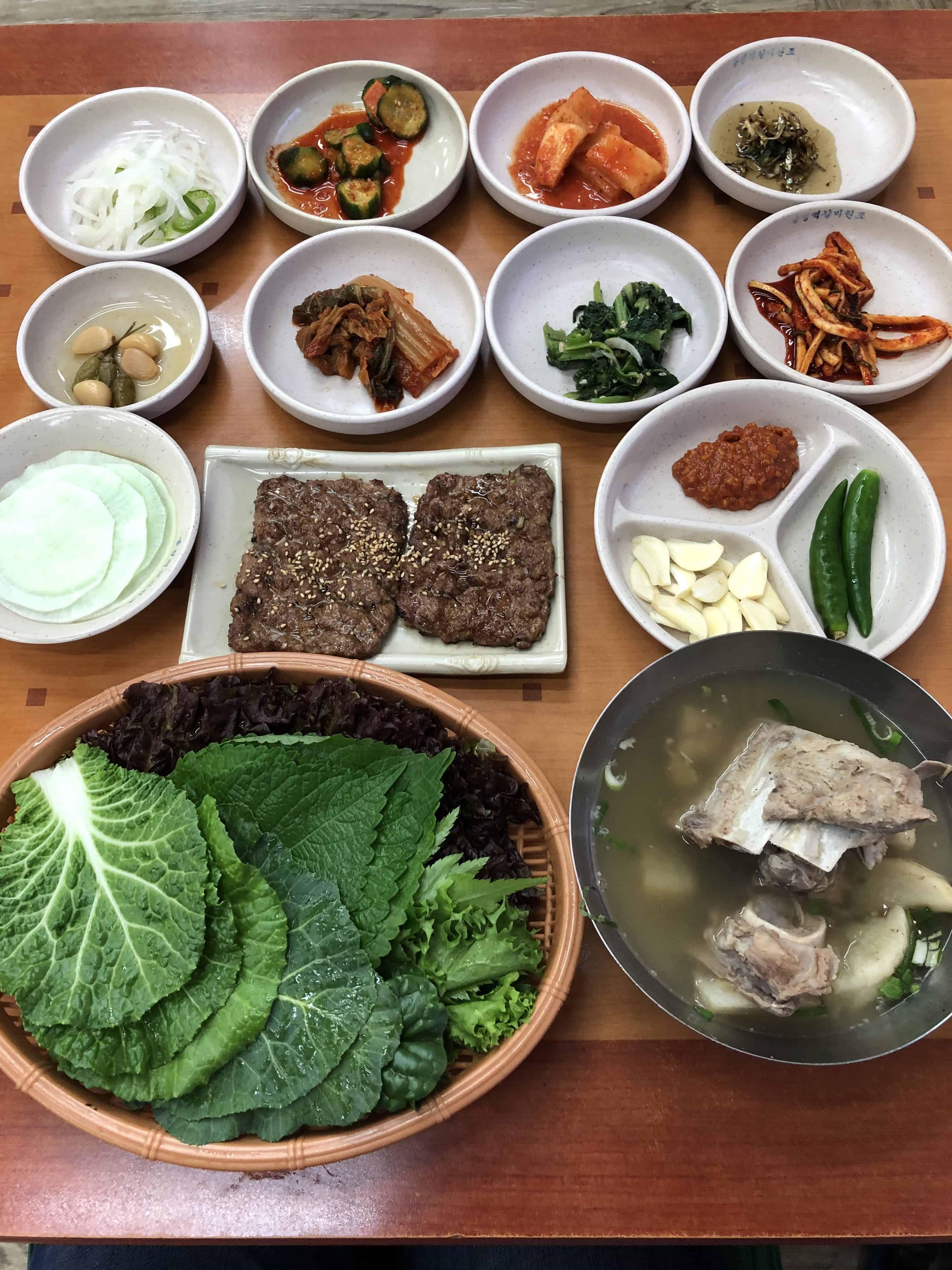 光州自由行美食景點推介2020 – 韓式家庭店:永味鴨肉湯及松汀烤肉餅