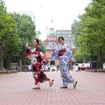 來到北海道夏天就是要拍閨蜜照!和服浴衣+化妝+髮型+攝影師街拍+全部相片原檔!