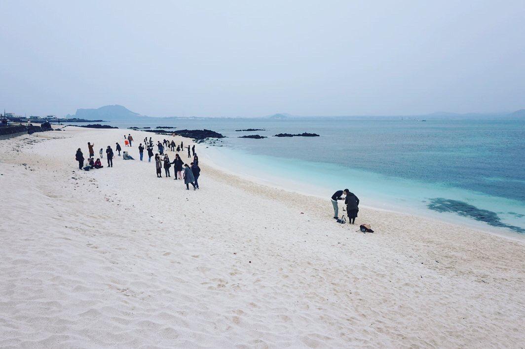 韓國濟州景點牛島單車遊:偶來小路、牛島峰、牛島燈塔、西濱白沙、下高水洞海水浴場